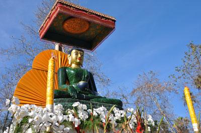"""Smiling"" Jade Buddha"