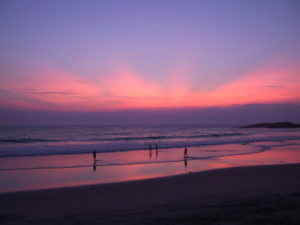 Lighthouse Beach Kovalam Sunset